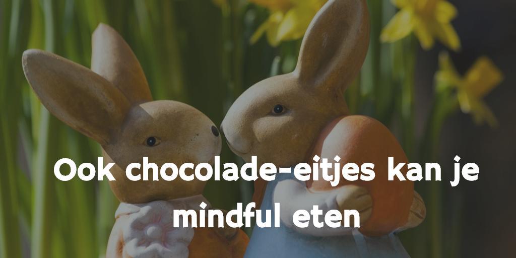 Heb jij voor Pasen chocolade-eitjes, chocolade-hazen, enzovoorts in huis gehaald?  En heb je nog wat over? Dan is dit het perfecte moment om te oefenen met mindful eten, want ook chocolade kun je mindful eten.  https://www.plezierigafvallen.nl/ook-chocolade-kan-je-mindful-eten…  #chocolade #Mindfulness #mindfuleten