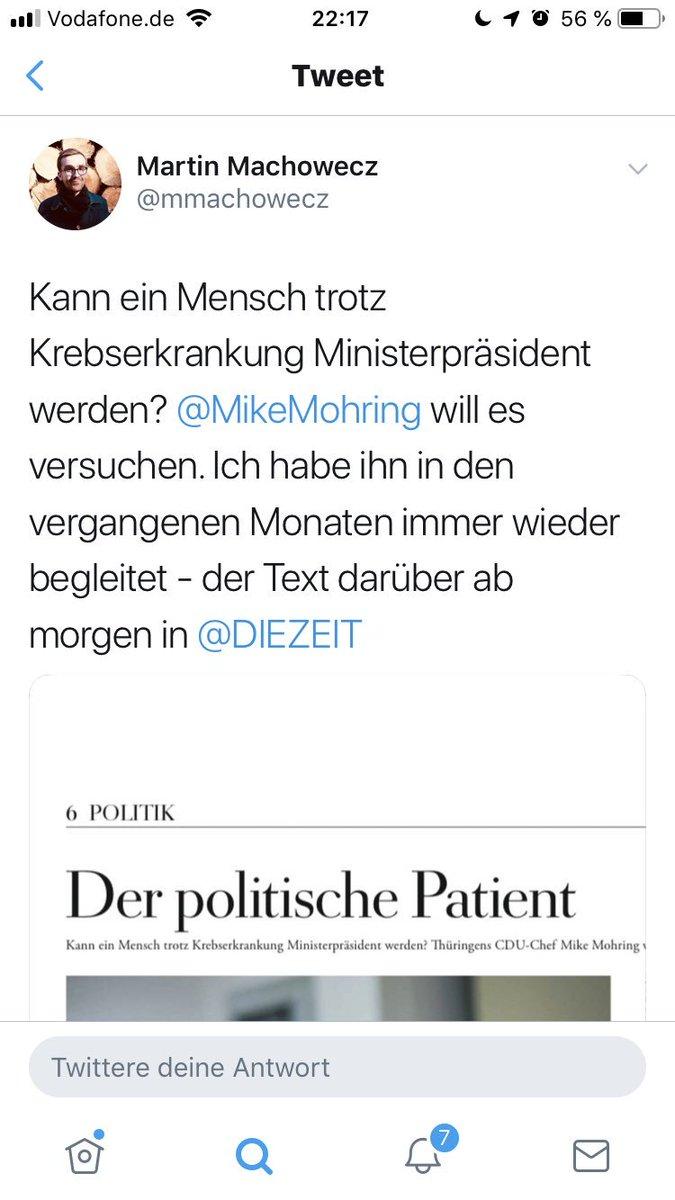 Kaum reg ich mich über Personality-Shitshows auf, kommt der Zeit im Osten Premium Journalist mit dieser CDU Heldenverehrung um die Ecke. Aber ja, nennt es ruhig politische Analyse oder sowas. Und erstickt dran. Danke.