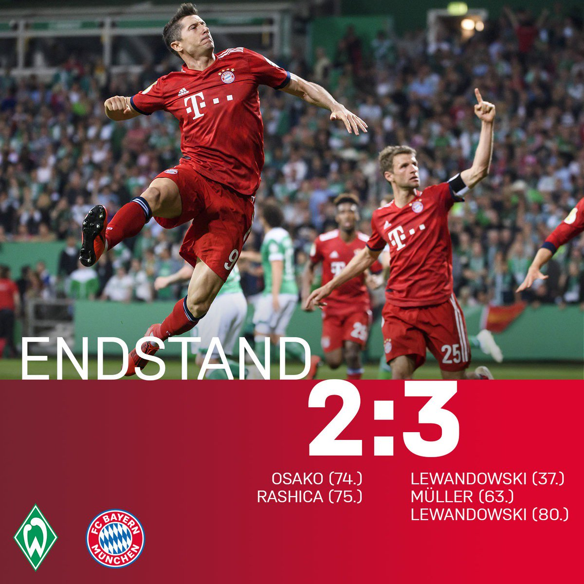 FC Bayern München's photo on #SVWFCB