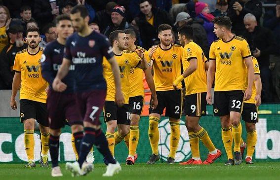 أهداف مباراة أرسنال وولفرهامبتون (1-3) - الدوري الإنجليزي
