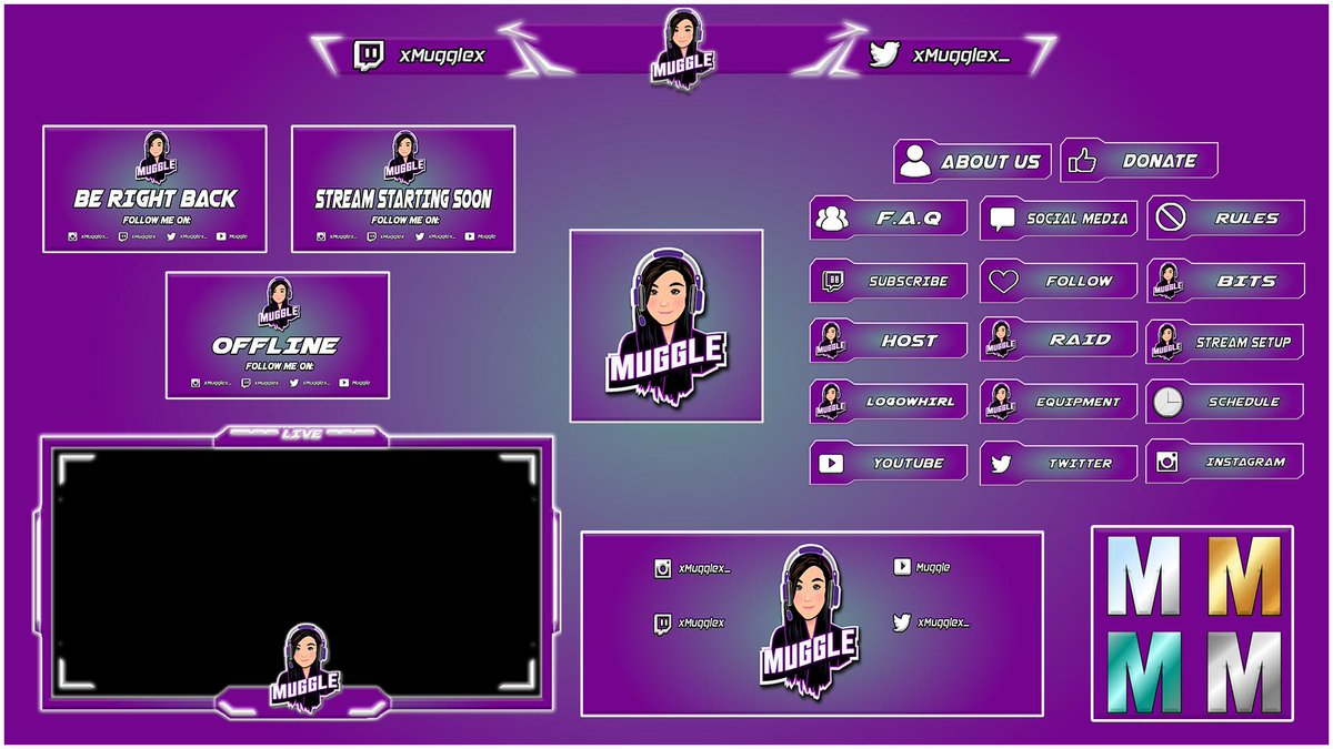 DM me for TWITCH LOGO , BANNERS , OVERLAYS ETC  #twitch #TwitchTV #twitchstreamer #twitchgirls #twitchcreative #twitchaffiliate #TwitchCon #twitchstream #twitchkittens #twitchgaming   #gaming #gamingcommunity  #GamingSetup #gaminglife #GamerGate #gamers #gamergirl