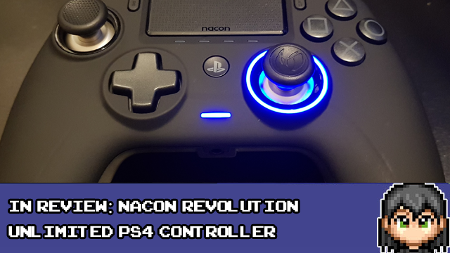 Today's post is now live, looking at the @NaconGaming Revolution Unlimited pro #PS4 controller! Come and see how it held up to my testing, and what I thought of it!  https://www.16bitdad.com/blog/in-review-nacon-revolution-unlimited-ps4-controller/ …  #gamersunite #gaming #gamers #PlayStation #PlayStation4