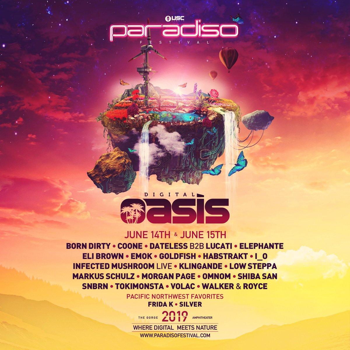 Paradiso Festival Digital Oasis lineup