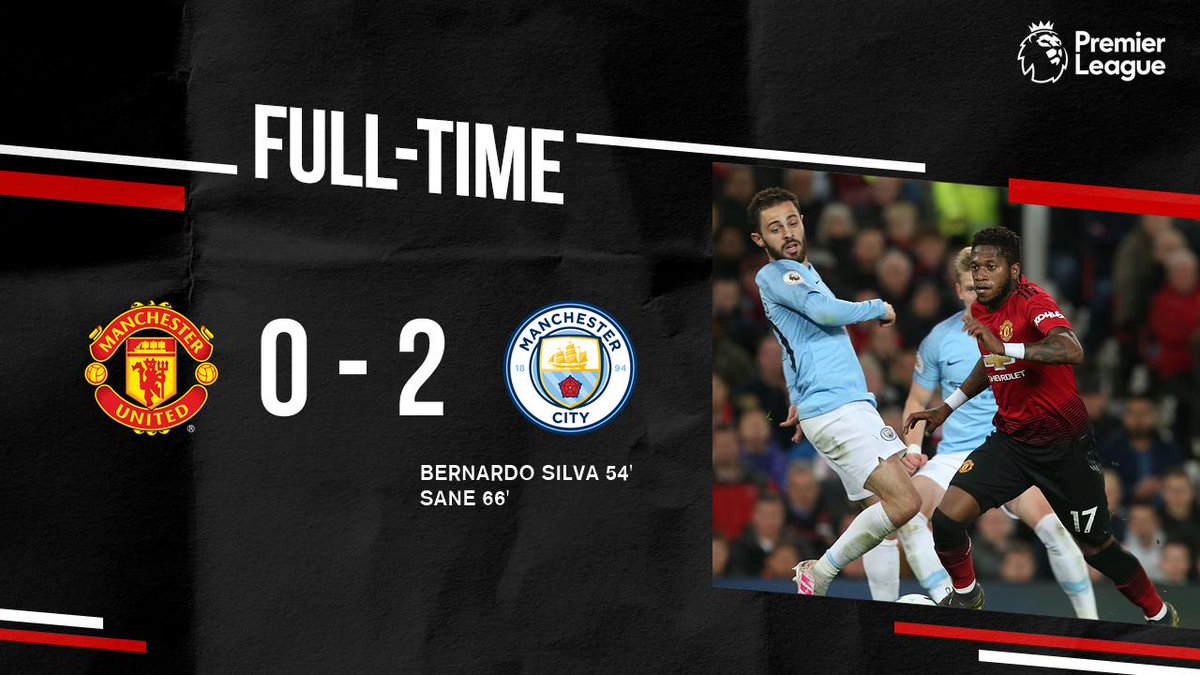 Cuplikan Gol Derby Manchester United Vs Manchester City The