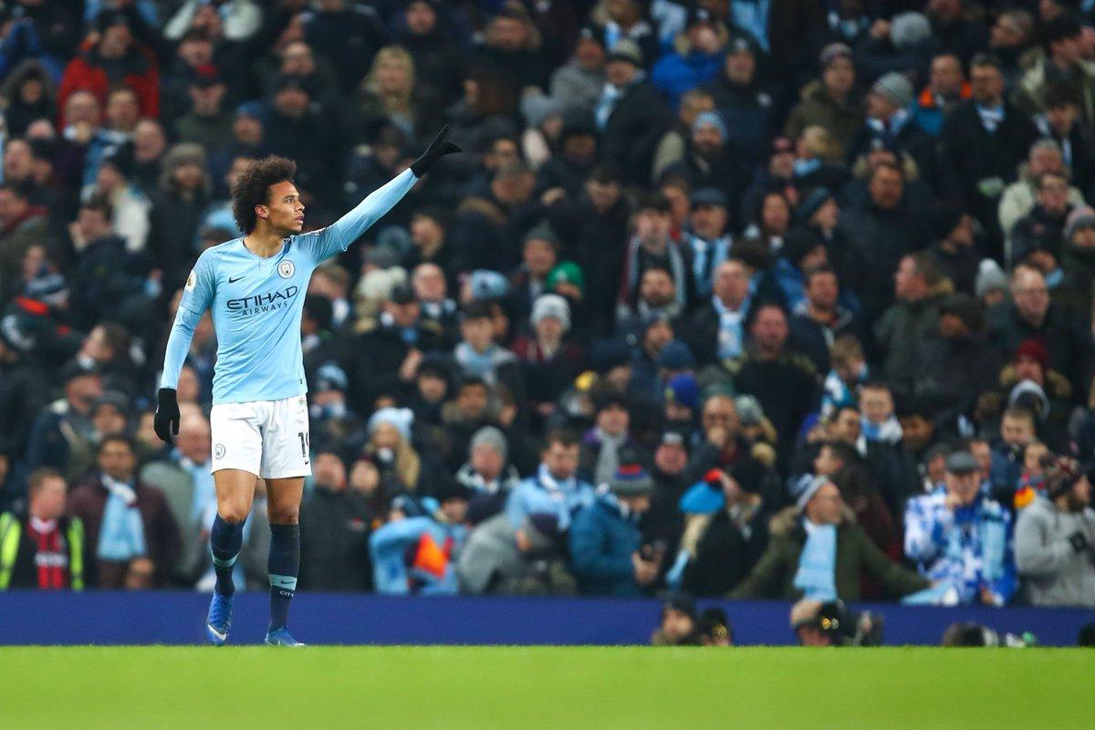 Leroy Sané in the Premier League last season: • 32 appearances • 10 goals • 15 assists Leroy Sané in the Premier League this season: • 29 appearances • 10 goals • 10 assists Hes good.