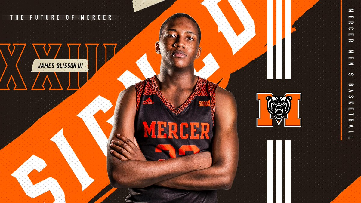 Another one! 💥 Help us welcome @JG3thetruth to the Mercer Family.  #RoarTogether 🐻🏀  📰: http://bit.ly/2ZyplF5