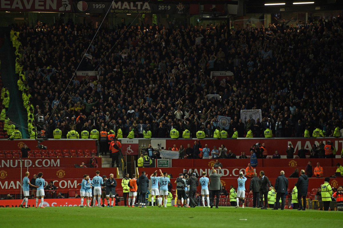 7 - Manchester City have won seven away Premier League against Manchester United at Old Trafford – more than any other team. Backyard. #MUNMCI