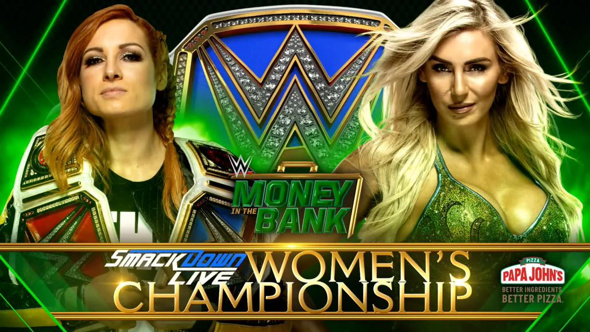 "Photo: Becky Lynch On WWE ""Money In The Bank"" PPV Poster"