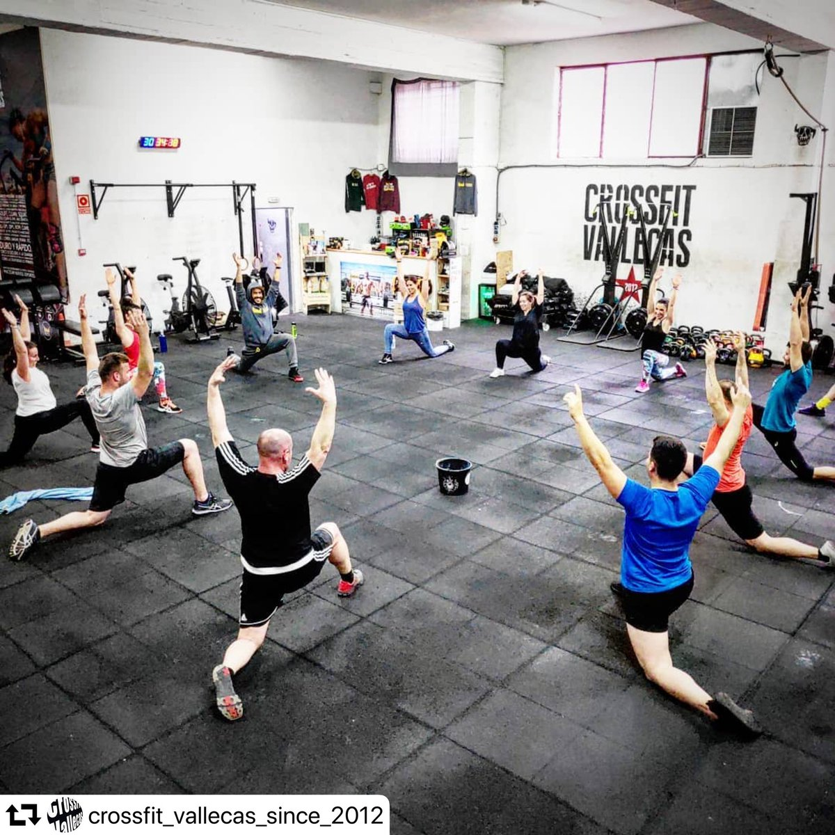 crossfitvallecas hashtag on Twitter