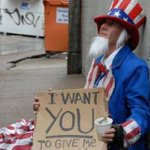 Image for the Tweet beginning: When Uncle Sam Just Can't