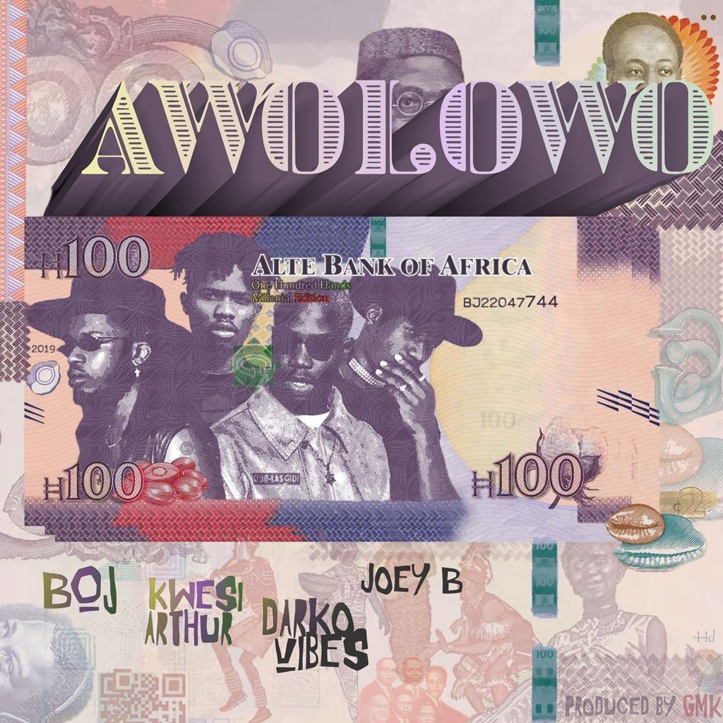 Alte Bank of Africa Alert!  @BojDRB x @KwesiArthur_ x @darkovibes x @1RealJoeyB - Awolowo