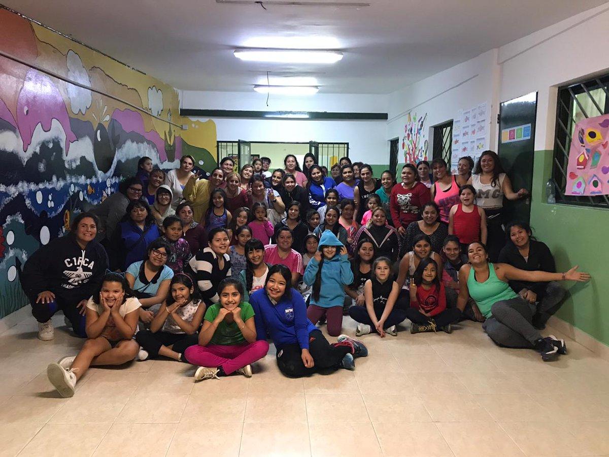 Zumba en Barrio San Miguel #Barriosenmovimiento #Madryn #Chubut