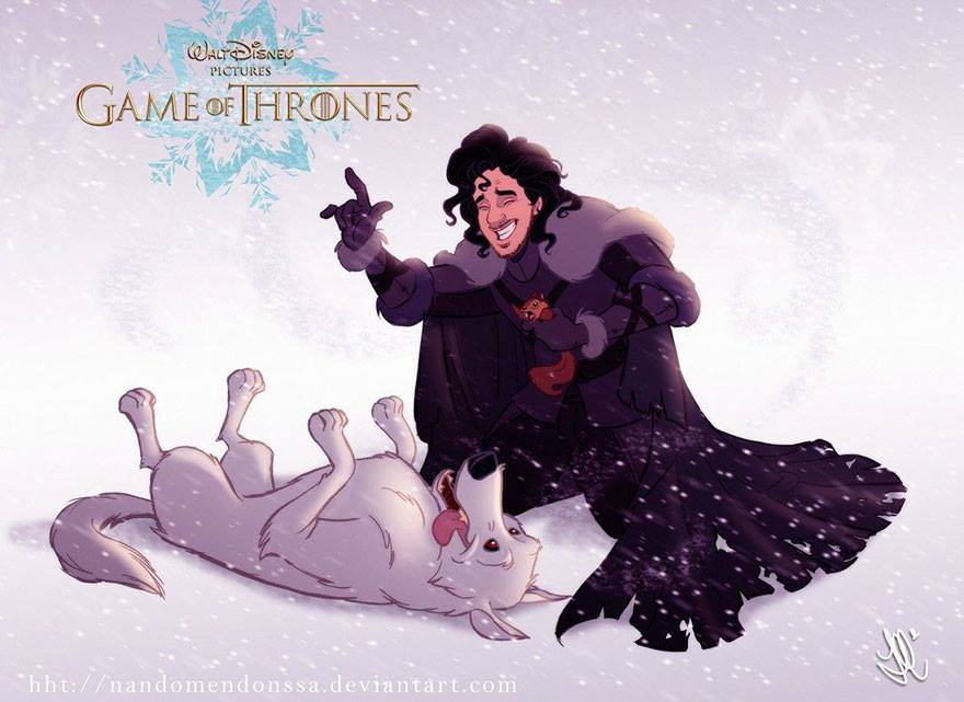 If #GameofThrones  was made by Disney <br>http://pic.twitter.com/2S7mVM1sn6