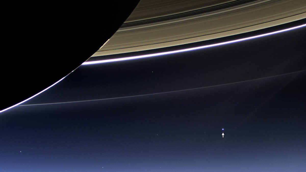 That tiny dot is ... your home.