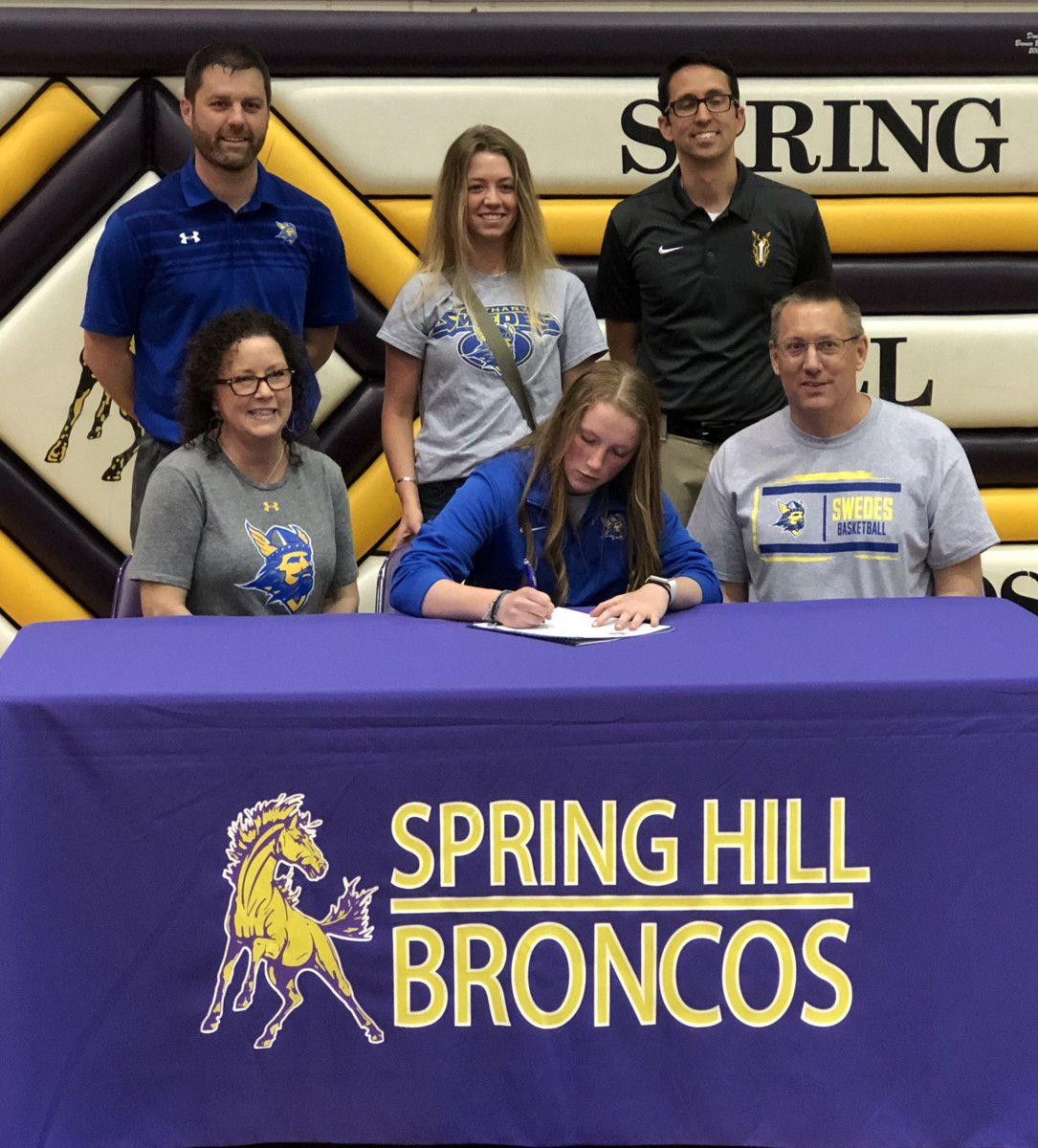 Congratulations to Meghan Goff for signing a letter of intent to Bethany college to continue her basketball career! #YouGetWhatYouWorkFor<br>http://pic.twitter.com/DYS3oj2Vmj