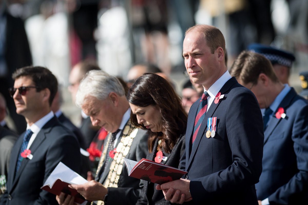 Kensington Palace's photo on #AnzacDay
