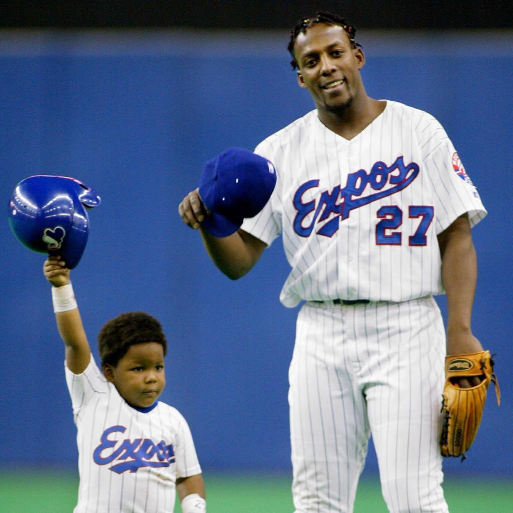 """Vladimir Guerrero on Twitter: """"My son! The country that saw you as a child  will now see you turn into a big one. Working hard everything can be done.  I'm proud of"""