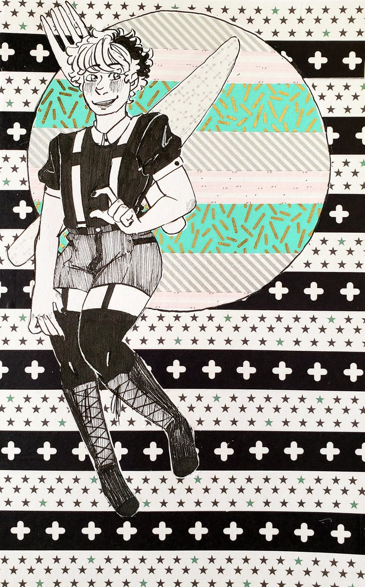 Go beyond the point of no return! . .  I&#39;m,, hella proud of this, also washi tape is FUN ASF @GHOST_AND_PALS<br>http://pic.twitter.com/c4JeVvEEhr