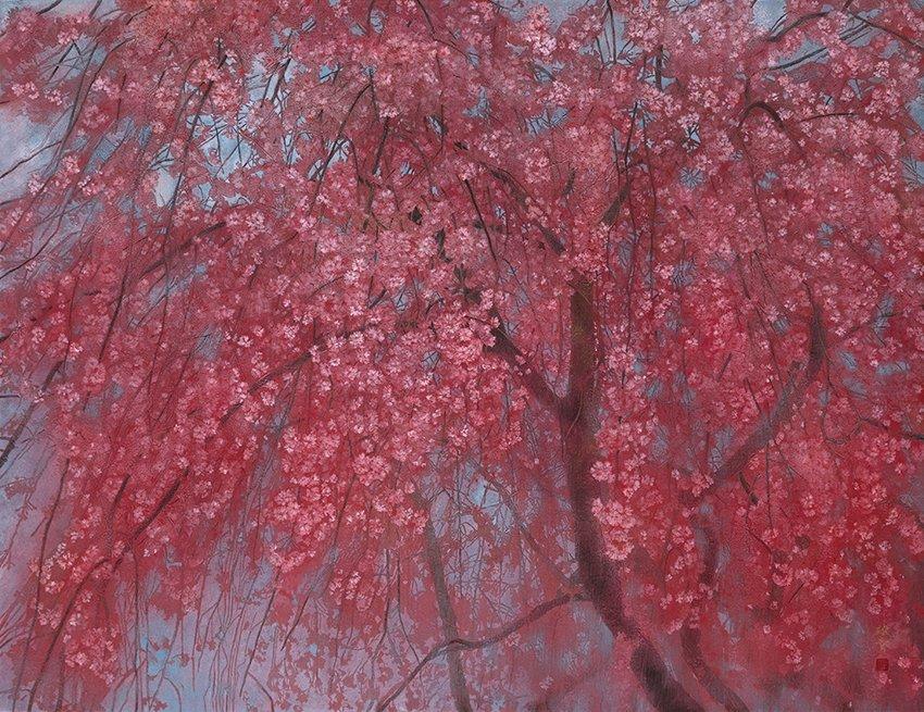 【トークイベントのお知らせ】 4月28日(日)午後2時から、桜花賞出品作家の山田雄貴先生によるトークイベントを開催いたします。皆様のご参加をお待ちしております。 ※予約不要・参加費無料(要当日入館券) #郷さくら美術館