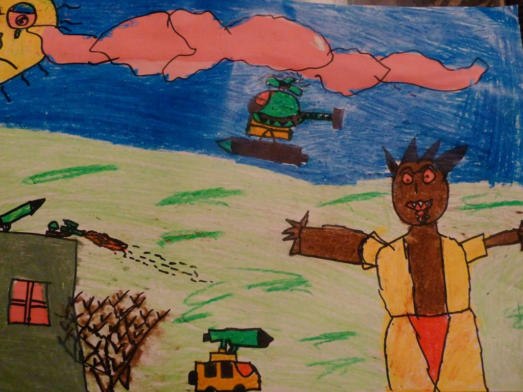 #LestWeForget Lest we forget all the people who suffer and die at the hands of war. May our reflections not lead to patriotism, but to peace.#AnzacDay2019 pic by 5y.o. asylum seeker from Iraq, Christmas Island <br>http://pic.twitter.com/5MZd3TD0LA