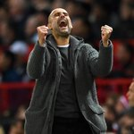 Image for the Tweet beginning: Pep Guardiola is the first
