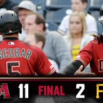 Image for the Tweet beginning: Series clinched. #DbacksWin