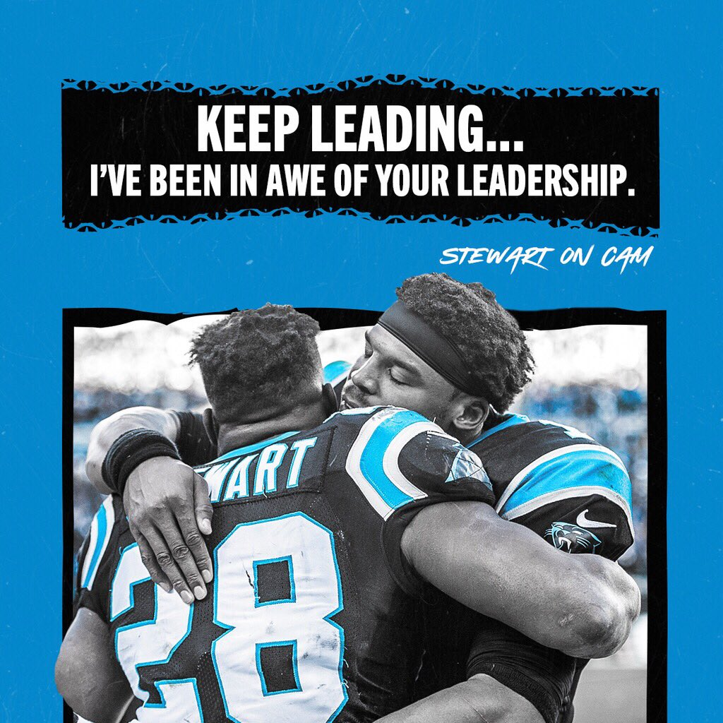 .@Jonathanstewar1 had powerful things to say about his teammates 🙌