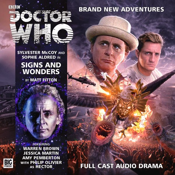 There's a wonderful little reference to the Doctor Who: The New Adventures novels in Signs and Wonders from Big Finish. I couldn't help but grin.