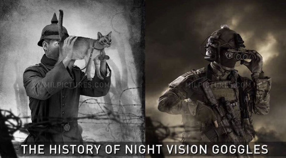 Today In Millitary History 4.24.1914 Night Vision Goggles were invented.  #brcc #brccmilitaryhistory<br>http://pic.twitter.com/pOeaXnPQya