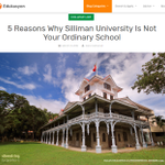 Image for the Tweet beginning: Study BS #Pharmacy in Silliman! The