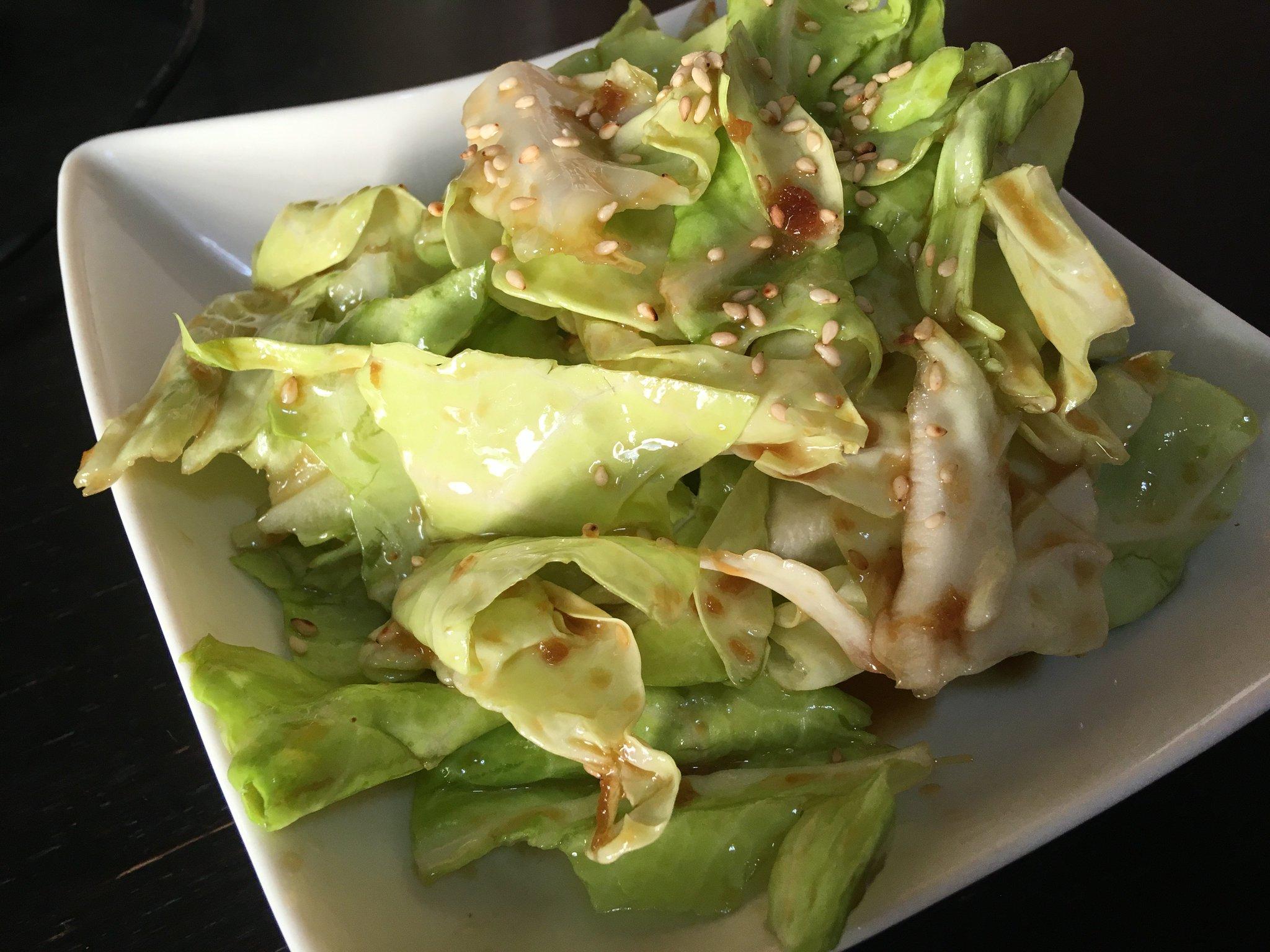 家にあるもので叙々苑のサラダを再現!!キャベツが無限に食べられるぐらい美味しい!!