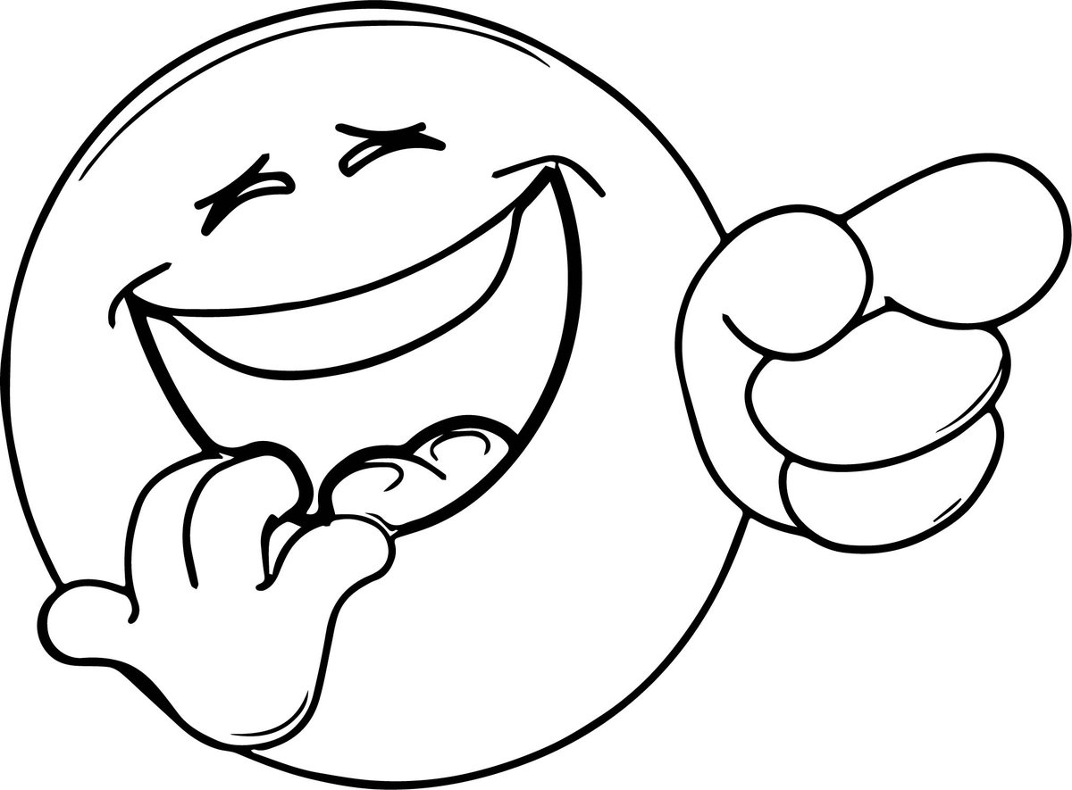 Картинка улыбки черно белая
