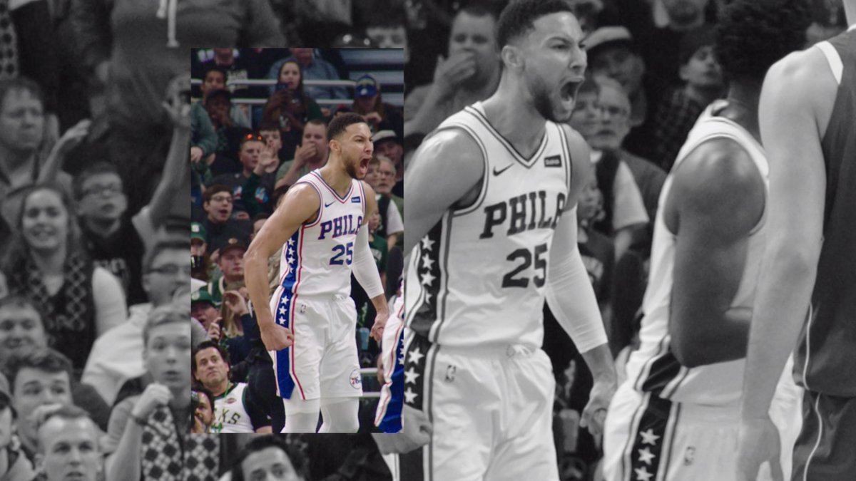 The process is never finished. @BenSimmons25 knows championship dreams are made one play at a time. #justdoit