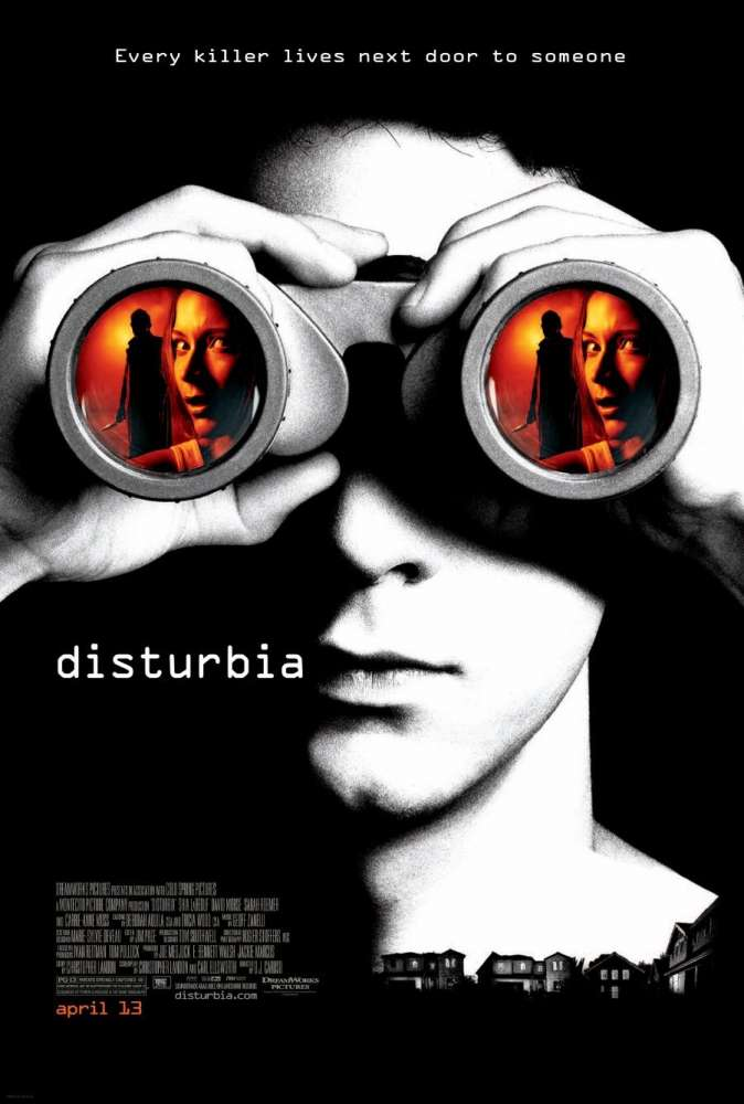 Disturbia was released on this day 12 years ago (2007). #ShiaLaBeouf #DavidMorse - #DJCaruso