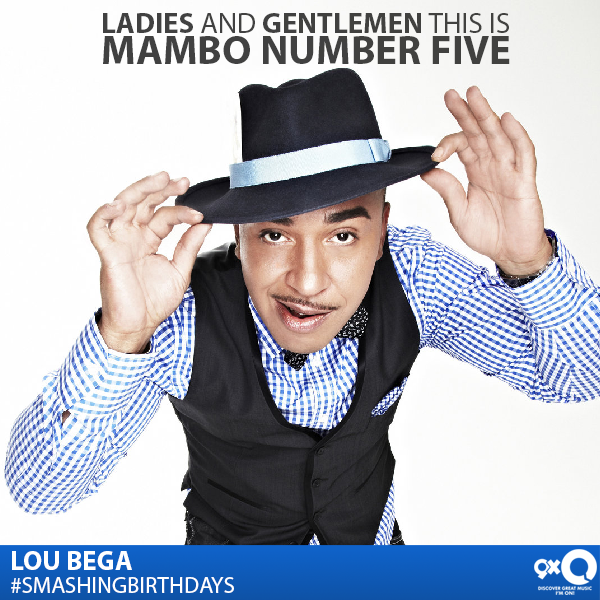 A jive session isn\t complete without this man\s songs! Happy Birthday Lou Bega!