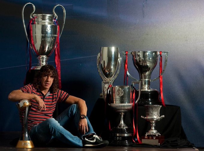 | Happy Birthday and Congratulations to former FC Barcelona\s defender, Carles Puyol, who turns 41 today.