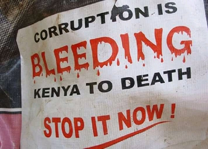 When I post this, some dickheads will think I am targeting William Ruto just because the word corruption is part of the the message.  #KenyaWeWant