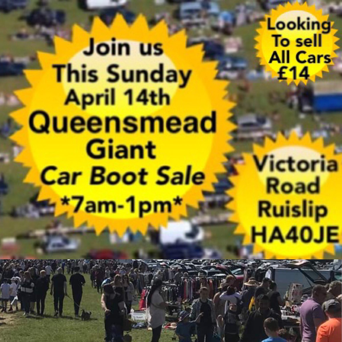 Calvers Car Boot Sales On Twitter Open Tomorrow From 7am