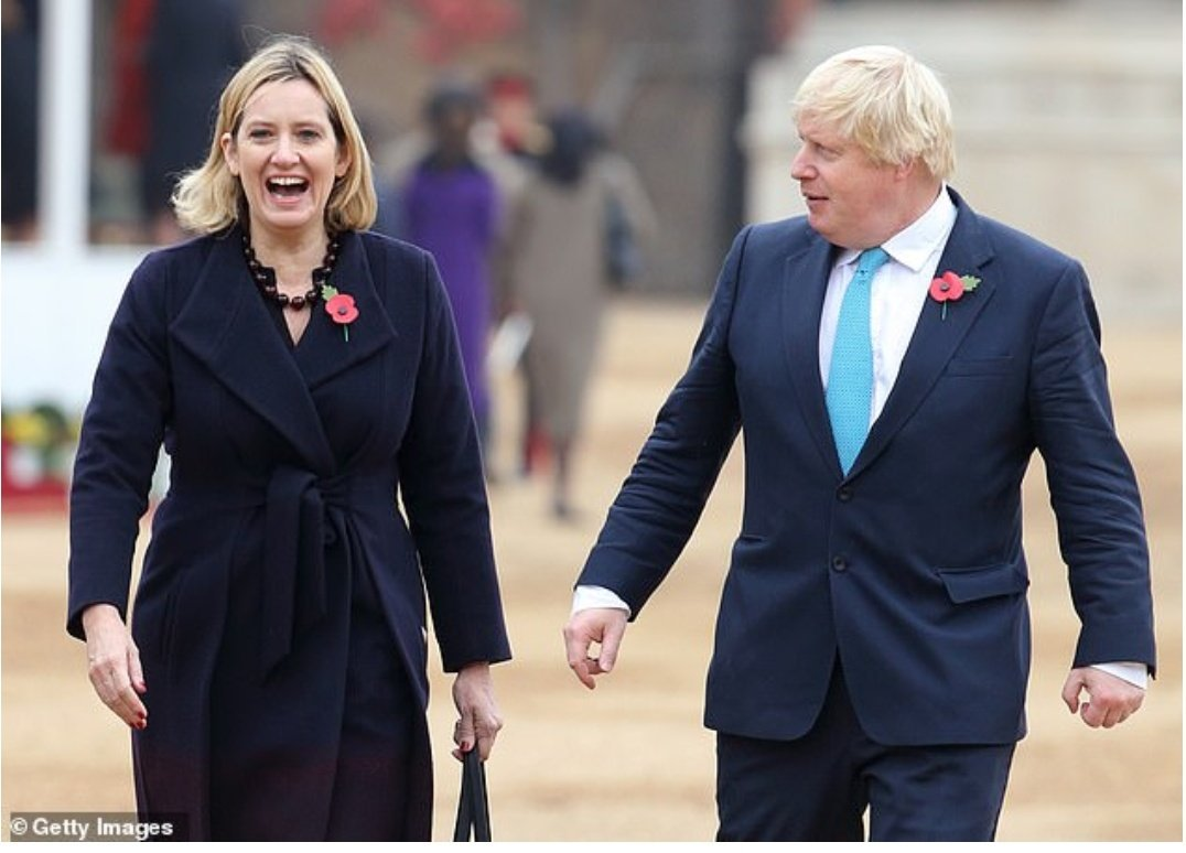 Boris as PM and Amber Rudd as Chancellor?!  Has the UK gone mad? Seriously, I can't think of two people less suited to the job.