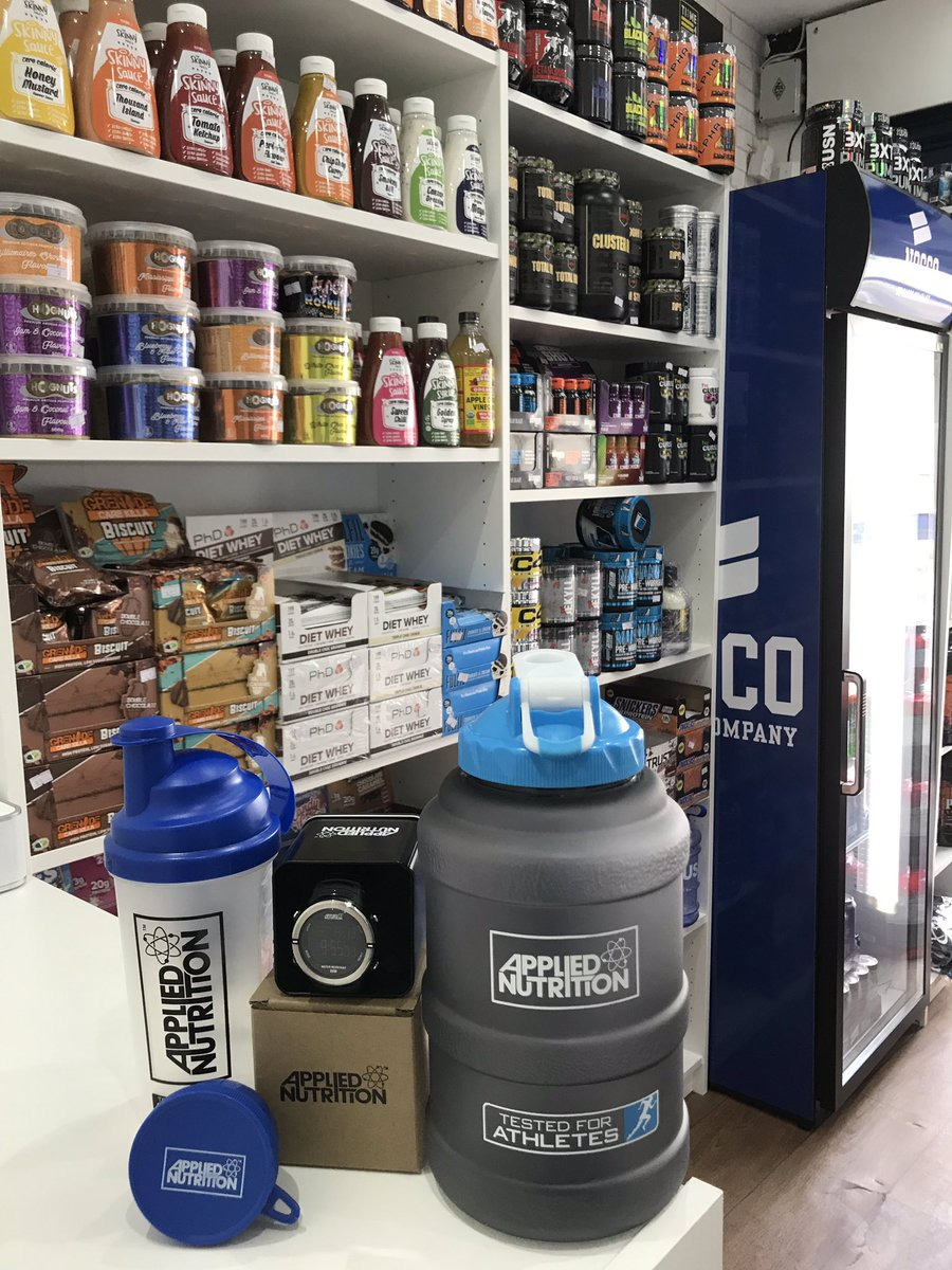 We are open until 4pm today or if you cannot make it into the #shop take a look at our #website SupplementKing.uk Spend over £50 today online/shop get a free Applied Nutrition #Gym Towel #Water jug #Shaker #Watch #Protein Funnel Free Local same day #delivery