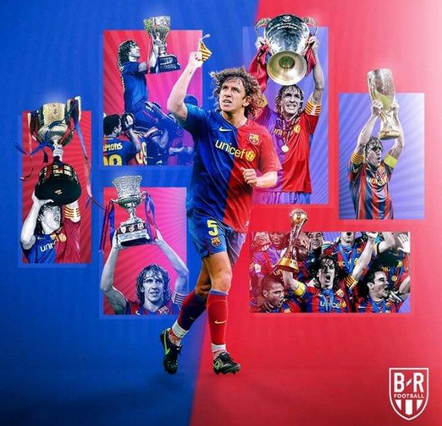 Happy birthday capitano Carles Puyol
