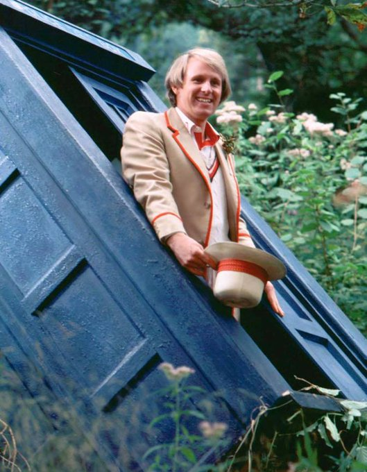 Happy Birthday to Peter Davison,The Fifth Doctor, who turns 68 today!