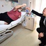 Image for the Tweet beginning: İzmir Büyükşehir Belediyesi Eşrefpaşa Hastanesi'nde