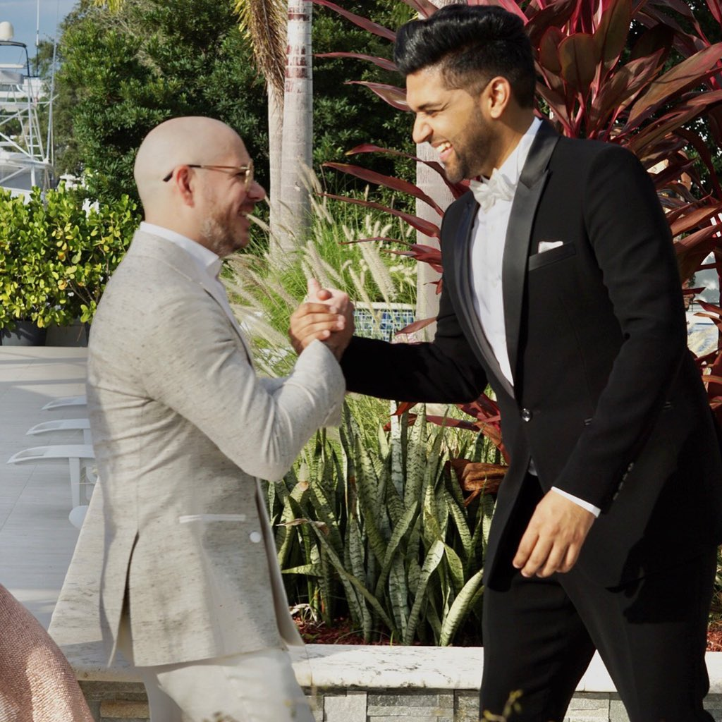 From India To Miami 🔥 Slowing Slowing out on 19th April 🙏 Sir @pitbull and we all are very excited for release ❤️
