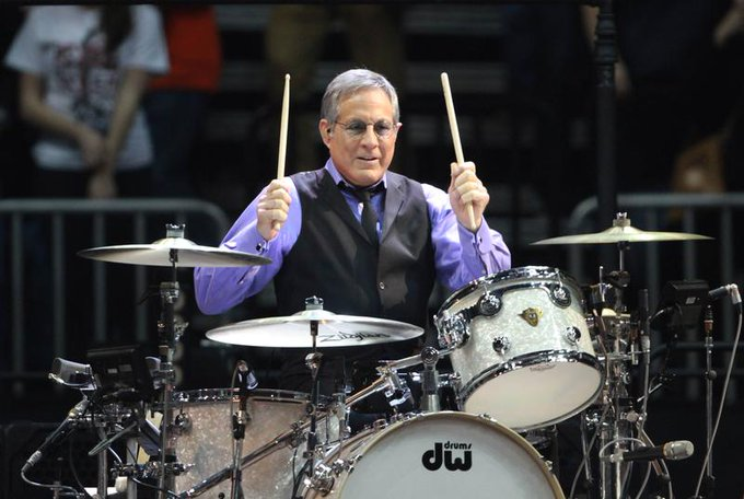 Happy 68th Birthday to the mighty Max Weinberg of Springsteen\s E Street Band!