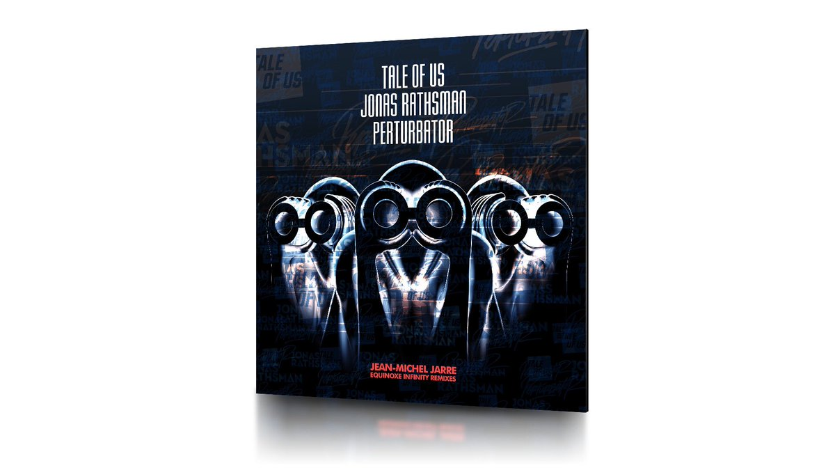 """Very happy to support @recordstoreday with a special  Remix EP for Equinoxe Infinity with mixes by @TaleOfUs @jonasrathsman @The_Perturbator The limited to 1300 units 12"""" is available in selected stores participating in @recordstoreday 2019."""