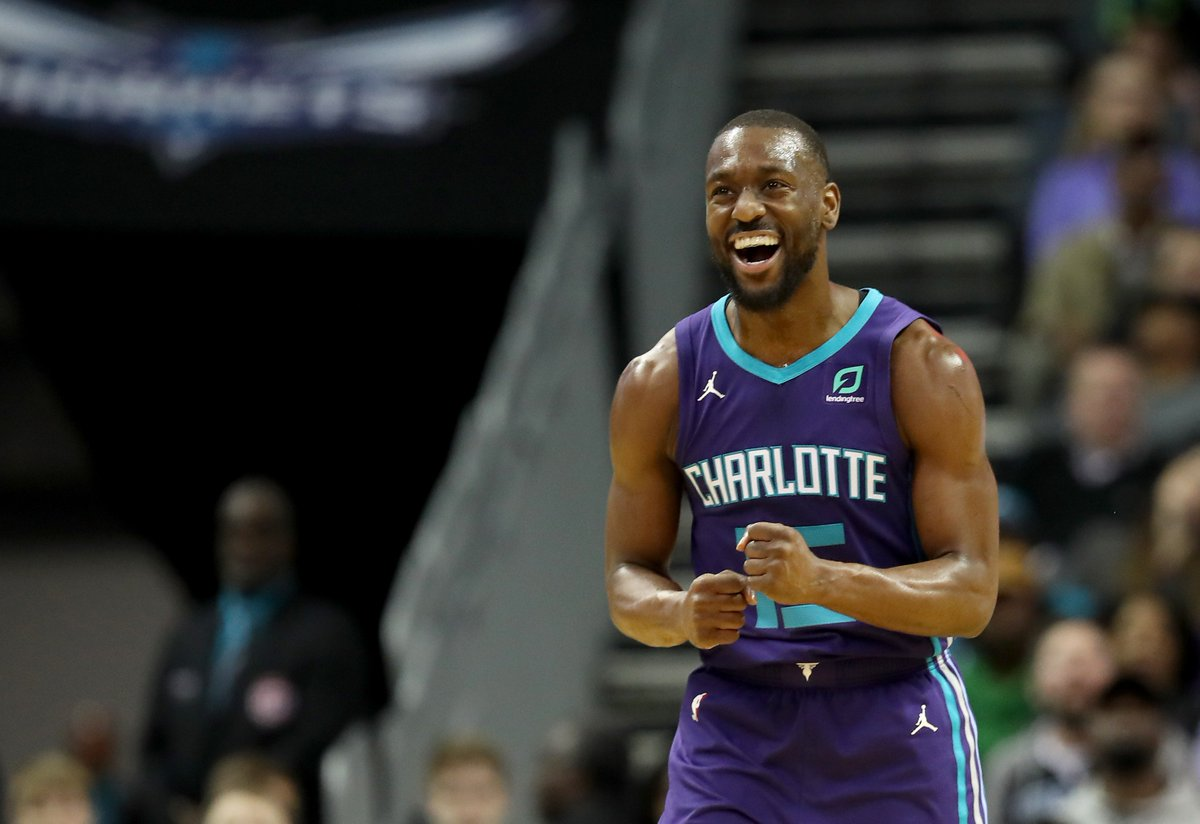 """It is pretty staggering to look at all his numbers and what he has done this season down the line."" - Hornets Head Coach James Borrego  FEATURE: @KembaWalker Adds to Legacy With Another Career Year 📝https://on.nba.com/2IwaZz2"