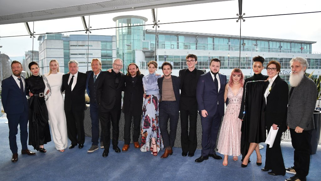 The Cast Celebrated Final Season Of Ofthrones Where It All Began