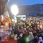 Image for the Tweet beginning: Dawn Mass At Oisín Park April