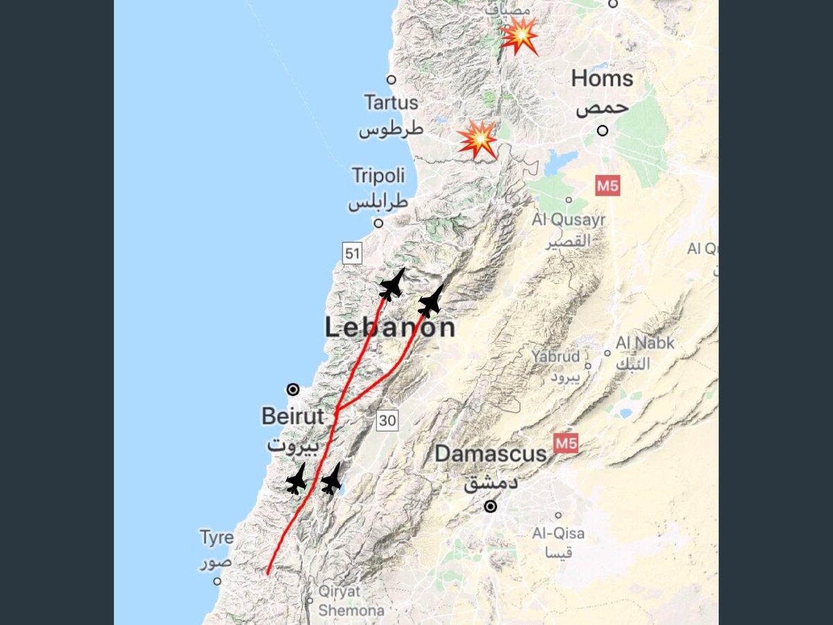 """موقع إسرائيلي: القصف على """"مصياف"""" السورية دمر صواريخ إيرانية من نوع """"زلزال 2"""" D4Cm260UwAAEzZ4"""